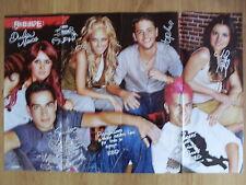 XXL POSTER + Autographs - REBELDE / HIGH SCHOOL MUSICAL