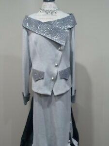 Donna Vinci knit suit size 18