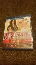 BLU-RAY Burlesque (Blu-Ray+DVD)  Christina Aguilera, Cher. NEW