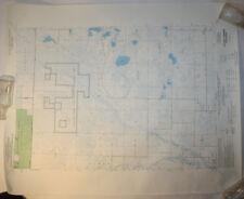 Vintage USGS Map Hickory Corners, WI 1973