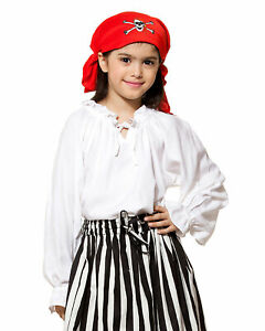 Girl Pirate Blouse , High quality hand crafted, one by one, very COOL!!!