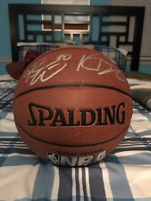Russell Westbrook Kevin Durant signed basketball