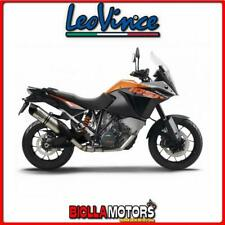 scarico leovince ktm 1050 adventure 2015-2016 lv one evo inox/carbonio 14159e