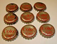 Quicky Grapefruit Soda Cork-Lined  BOTTLE CAP SC345 Garbnavillo Iowa 1960/'s