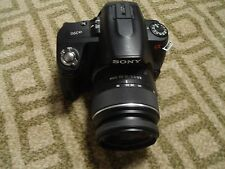 Very Nice Sony α (alpha) A390 14 MP Digital SLR DSLR Camera + 18-55mm Lens