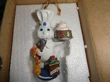 Qty 2 Pillsbury Doughboy Ornaments-year 2003-Danbury Mint
