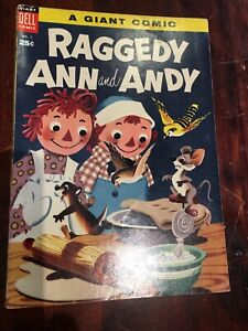 RAGGEDY ANDY   No 1  BY DELL  PUBLICATIONS FINE (6.0) 1955