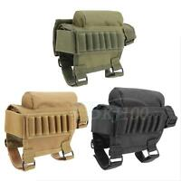 Portable Hunting  Buttstock Cheek Rest W/ Ammo Carrier Pouch ZY