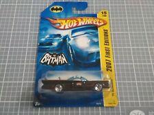 Hot Wheels Tv Batmobile 2007 first editions
