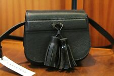 CARACTERE Women's Black 100% Leather Small Shoulder Bag NWT