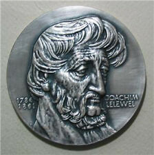 Joachim Lelewel / Polish Historian,Bibliographer / Bronze Medal 70 mm / N130