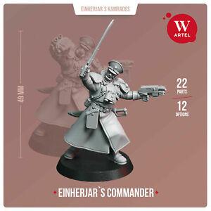 Valhallan Infantry #3 Lasgun Garde Impériale Astra Militarum Warhammer 40k métal