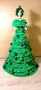 The original  Decorative Doll Christmas tree Girl