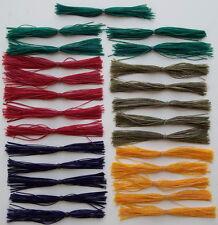 25 Custom Made Silicone Spinnerbait/Jig Skirts(#3 Assorted)-Bass Fishing-Fishing