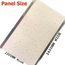 1m wide shower wall panels White Sparkle  2400mmx1mx10mm Thick