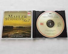 Vaclav NEUMANN / MAHLER Symphony No.7 GERMANY CD BERLIN Classics (1995) MINT
