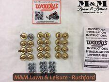 "New listing Polaris® Woodys® Grip Kit 1.075"" / 24 Pk. Stud Gold Digger 2873133"