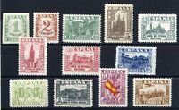Sellos de España 1936-1937 nº 802/813 Junta de Defensa Nacional nuevo