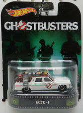 ECT0-1 ECTO 1 GHOSTBUSTERS RED REAL RIDERS 2017 MOVIE CAR HW HOT WHEELS