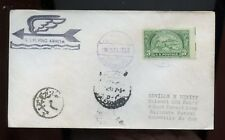"Ship Cover ""Ss Flying Arrow"" 1951 Alexandria (Egypt) Cancel on Us Issue"