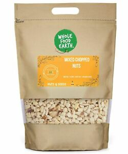 Mixed Chopped Nuts    GMO Free   Vegan   Dairy Free   No Added Sugar