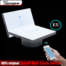 Sonoff Touch EU Smart WIFI APP Wall Light Touch Glass Panel Timing Switch