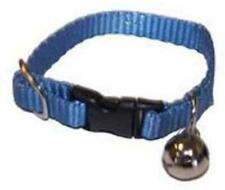 MARSHALL PET FERRET COLLAR WITH BELL BLUE JINGLE. FREE SHIPPING TO USA ONLY