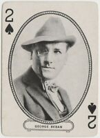 George Beban 1916 MJ Moriarty Silent Film Star Playing Card