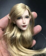 1/6 Fairy Elf Princess Head Sculpt for PALE TBLeague Phicen Female Figure Doll