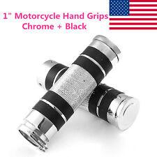 """1"""" Handle Bar Hand Grips For Harley Davidson XL Sportster V Rod Hugger 883 XLH"""