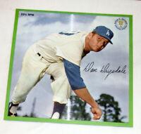 Auravision Records 33 1/3 RPM Don Drysdale 1962  - Los Angeles Dodgers