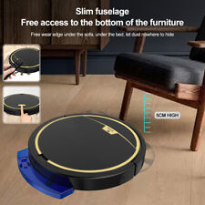 Automatic Rechargeable Smart Robot Vacuum Cleaner Suction Sweeper Edge Clean
