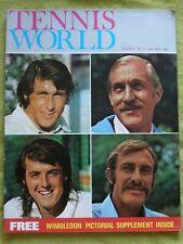 TENNIS WORLD / 1973 JULY / MY DREAM MATCH - CONNOLLY V COURT
