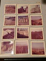 Lot Of 12 Vintage 1960s Military Navy Pompeii Arena Theater Photos Photographs