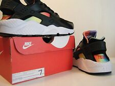1 of 1 Nike Air Huarache Run Rainbow TEDx PE Promo Sample Sz 7 BE TRUE Max Pride