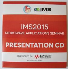 IEEE MTT-S 2015 Phoenix AZ Microwave Applications uApps Seminar Presentations CD