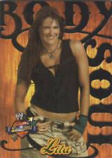 LITA 2004 Fleer WWE DIVAS 2005 BODY & SOUL Insert Card  #7BS