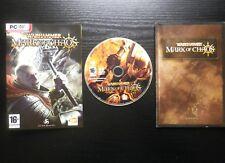 JEU PC DVD-ROM : Warhammer MARK OF CHAOS (Bandai COMPLET envoi suivi)