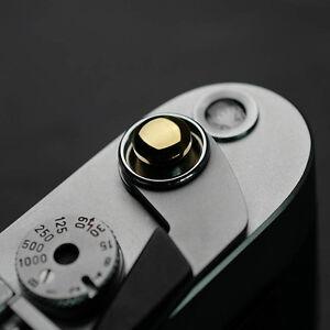 Mr.Stone Shutter button release for Leica FUJI Canon Nikon And Other Camera Gold