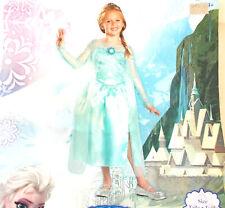Disney Elsa Frozen Child Costume Dress XS 3-4T NIP