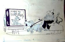 BUGS BUNNY ORIGINAL ART SKETCH SIGNED by LEMBO ARGENTINA 1974