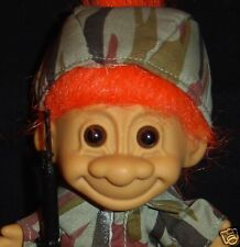 """MILITARY ARMY SOLDIER 5"""" Russ Troll Doll GI New in Bag"""