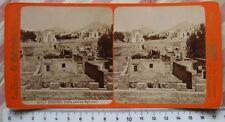 Stereophoto: Ercolano Veduta Generale degli scavi - G. Brogi n.5240a - nitida