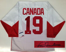 PAUL HENDERSON SIGNED TEAM CANADA 1972 JERSEY PSA/DNA CERTIFIED AUTHENTIC COA