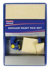Supadec bricolaje decoración mohair Paint Pad Recargas, Manija Y Bandeja Set - 5 Piezas