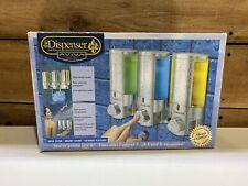 Better Living Products 76335 AVIVA Three Chamber Dispenser, Chrome