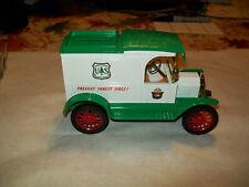 "Ertl #9124 1:25 ""Smokey the Bear  U.S. Forest Service #1"" 1913 Ford Model T Bank"