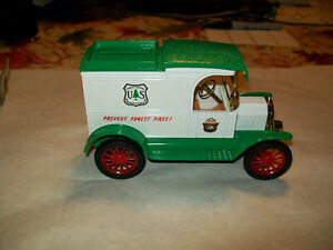 "Ertl #9124 1:25 ""Smokey the Bear  U.S. Forest Service #1"" 1913 Ford Model T Bank"
