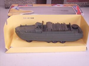 Solido The Famous Battles Collection  6238 GMC DUKW  LOADED Amphibious  boxed