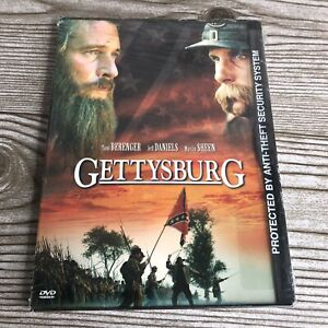 Gettysburg (DVD, 2000) New SEALED Tom Berenger Jeff Daniels Great Low Price!~